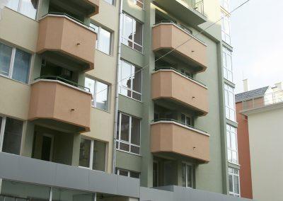 """Сграда на  ул.""""Рилски езера"""" 13, кв. Лозенец"""